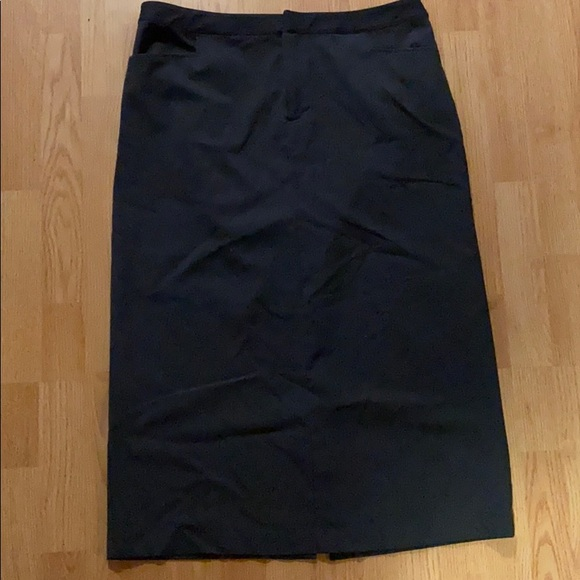 Dark Gray Christopher & Banks Skirt